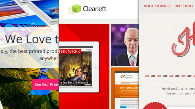Sites of the Week: HelloPics, Clearleft, Handiemail and more