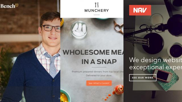 Sites of the Week: Bench, Standbuy, Munchery and more