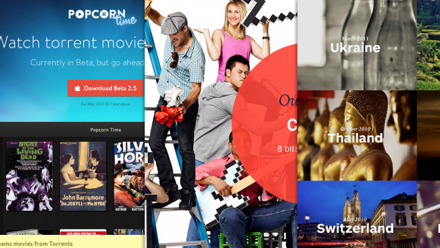 Sites of the Week: Popcorn Time, Fluid UI, Studio Alto and more