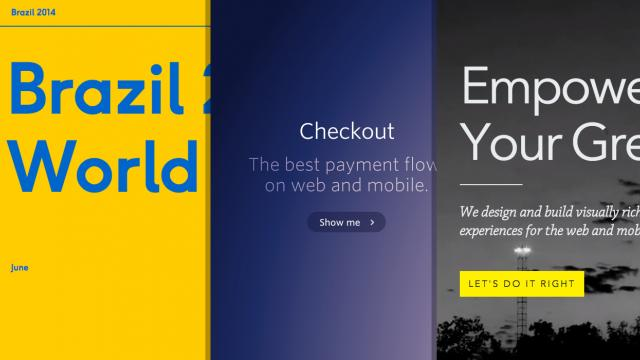Sites of the Week: Brazil Fourteen, Filament, Electrik and more