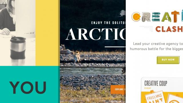 Sites of the Week: Arctic Wild, Creative Clash, Rally and more