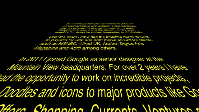 Star Wars in CSS