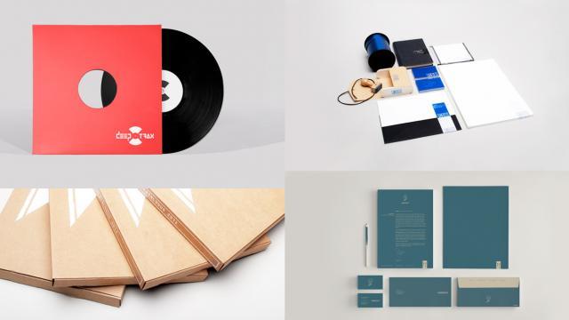Minimal Branding & Identity Works by Dennis de Vries