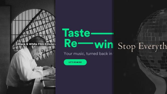 Sites of the Week: Purgo Tea, Spotify Taste Rewind, Laura Geley and more