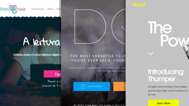 Sites of the Week: Vibrant, InVision DO, Elefante Letrado and more