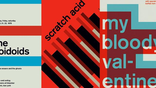 Swiss Typography Style Posters