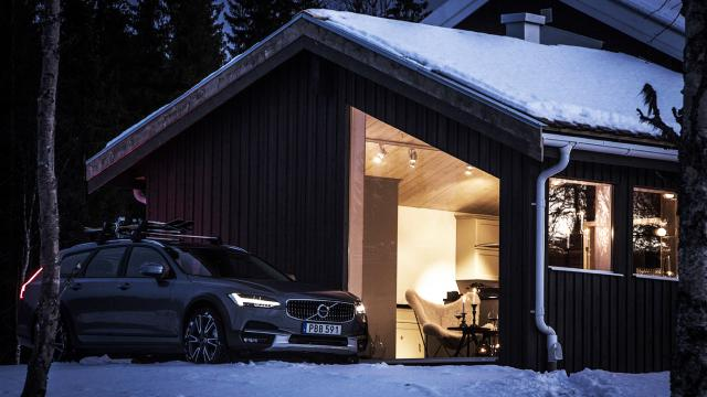 Interior Design: Volvo Get Away Lodge in Sweden
