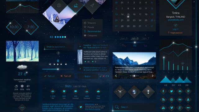UI/UX Conceptual Works by Tintins
