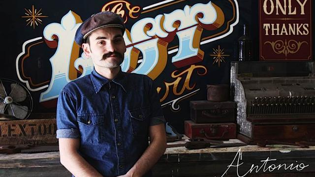 Inside the Studio of a Traditional Sign Painter