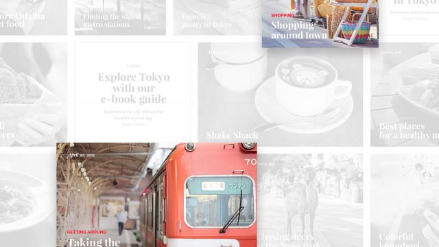 UI/UX Tokyo Explorer