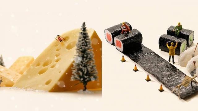 Everyday Miniature life by Tatsuya Tanaka