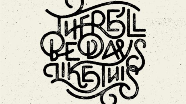 Typography Mania #294