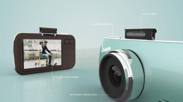 Concept Design: Vespa Cam