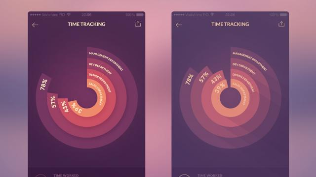 UI/UX Works by Virgil Pana