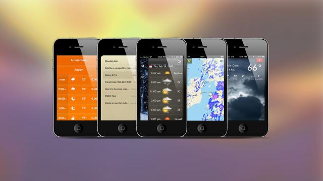 Weekly Apps: Weathercube, Rain Alerts, Notefile and more