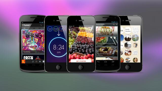 Weekly Apps: Wake, Tunein, Groceries and more