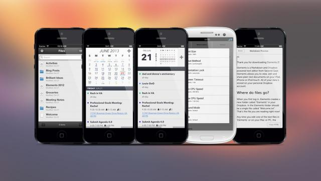 Weekly Apps: Elements, Captio, Agenda Calendar and more