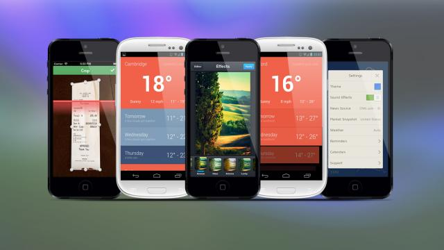 Weekly Apps: Morning, Hue, Receiptmate and more