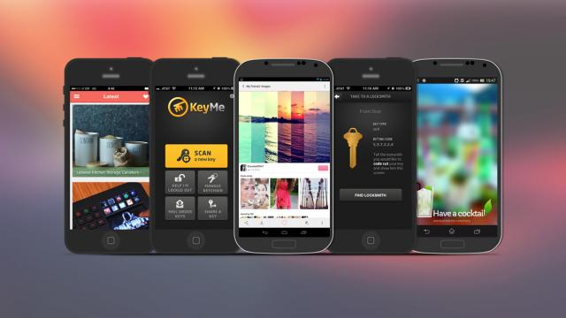 Weekly Apps: KeyMe, We Heart It, Gadget Flow and more