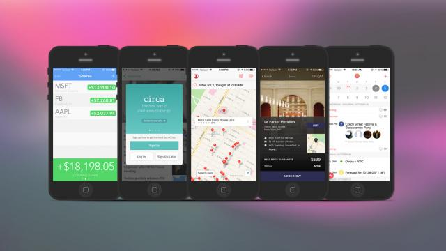 Weekly Apps: Shares, Circa, Sunrise Calendar and more
