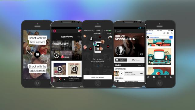 Weekly Apps: Frontback, Beats Music, Behance and more