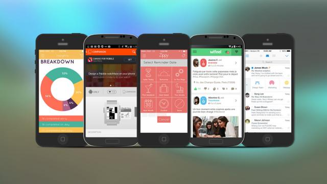 Weekly Apps: WeTransfer, Wifeel, SquareOne and more