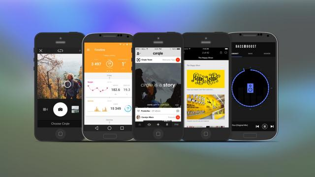 Weekly Apps: Cirqle, Bass Booster, Health Mate and more