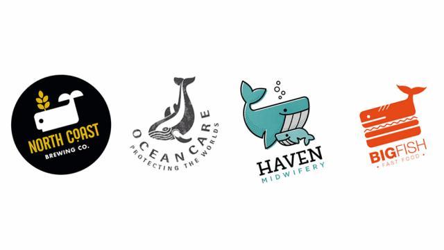 Logo Design: More Whales