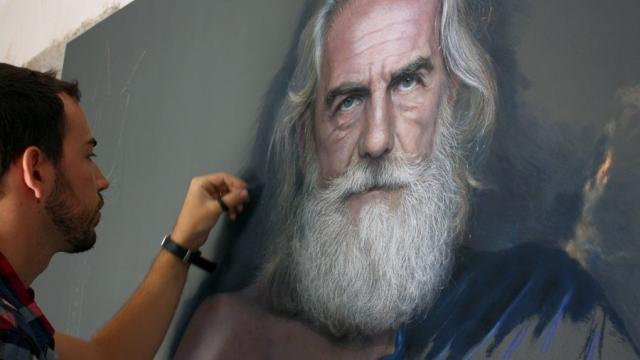 Photo Realistic Pastel Drawings
