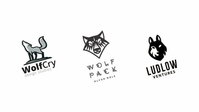 Logo Design: More Wolves