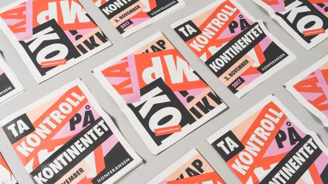 Bold Brand Identity for !Konferansen Women's Conference