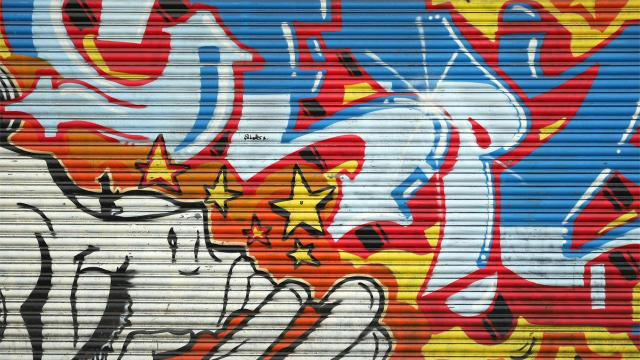 Wallpaper of the Week Hoxton Graffiti