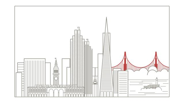 Wallpaper of the Week - San Francisco Skyline