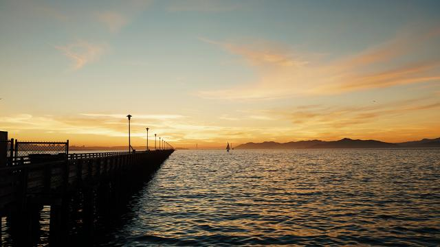 Wallpaper of the Week - Berkeley Pier