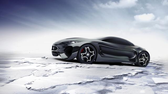 Car Design: Xtreme KinematiX by Skyrill.com and Marin Myftiu